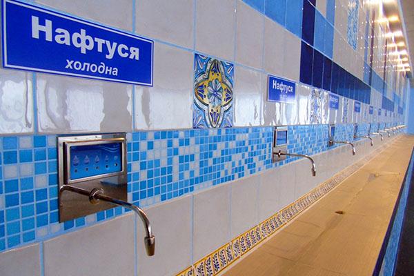 Бювет мінеральних вод в санаторії «Кристал»