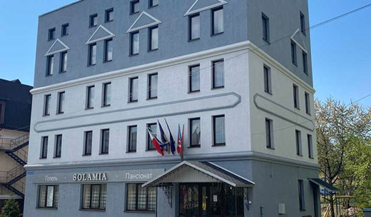 """Отель """"Соламия"""" в Трускавце"""
