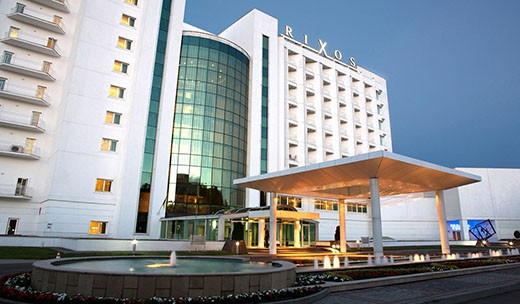 "Готель ""Rixos-Prykarpattya"" в Трускавці"