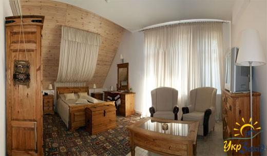 Однокімнатний двомісний люкс