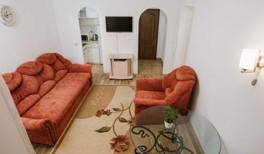 Двокімнатний люкс з кухнею