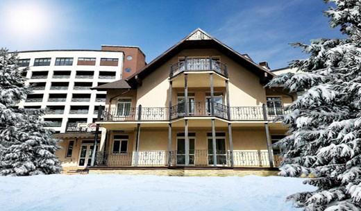 """Отель """"Glory Сани"""" зимой"""