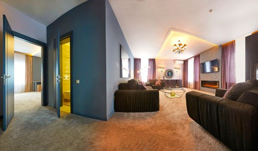 4комн. 4мест. апартаменты улучшенные