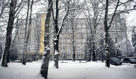 """Санаторий """"Днестр"""" в Моршине"""